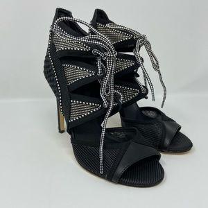 gx by Gwen Stefani Womens Lace Up Stilettos Size 7
